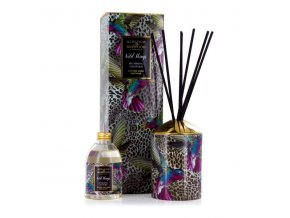 Aroma difuzér WILD THINGS BLACK RASPBERRY, HUMMING LEOPARD 200 ml.