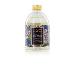 Náhradní náplň do aroma difuzéru WILD THINGS BLACK RASPBERRY HUMMING LEOPARD, 200 ml