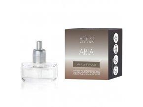 Náplň do elektrického aroma difuzéru ARIA Vanilka a dřevo, 20 ml