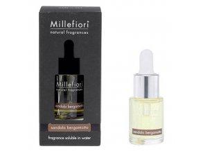 Aroma olej Natural Santalové dřevo a bergamot, 15 ml