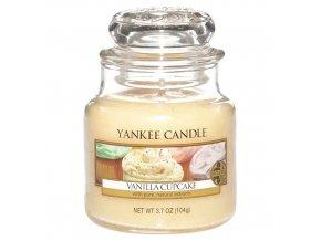 Yankee Candle Vonná svíčka Vanilkový košíček (Vanilla Cupcake), 411 g