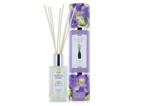 Aroma difuzér THE SCENTED HOME FREESIA & ORCHID (frézie a orchidej), 150 ml