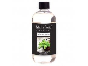 Náplň do aroma difuzéru NATURAL Bílá máta a tonkové boby, 250 ml