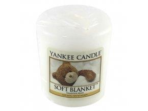 Votivní svíčka Yankee Candle Jemná přikrývka, 49 g