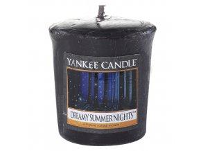 Votivní svíčka Yankee Candle Zasněné letní noci, 49 g
