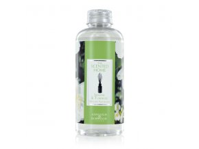 Náplň do aroma difuzéru THE SCENTED HOME JASMINE & TUBEROSE (jasmín a tuberóza), 150 ml