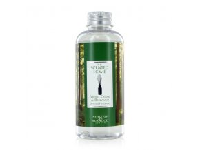 Náplň do aroma difuzéru WHITE CEDAR & BERGAMOT (bílý cedr s bergamotem) THE SCENTED HOME, 150 ml