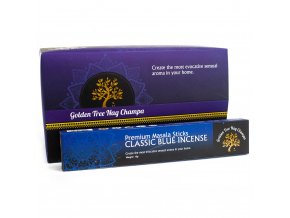 Vonné tyčinky Premium Nag Champa Golden Tree Blue, 15 g