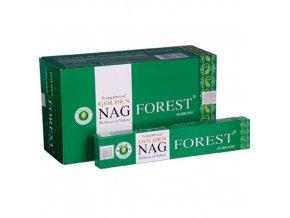 Vonné Tyčinky Vijayshree Golden Nag Forest, 15 g