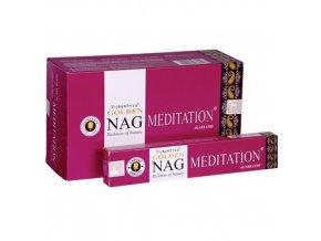 Vonné Tyčinky Vijayshree Golden Nag Meditace, 15 g