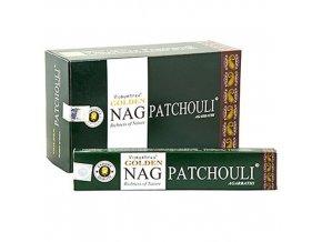 Vonné Tyčinky Vijayshree Golden Nag Patchouli, 15 g