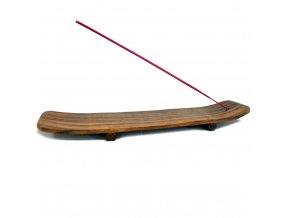 Stojánek na vonné tyčinky Zen Sheesham dřevěný4