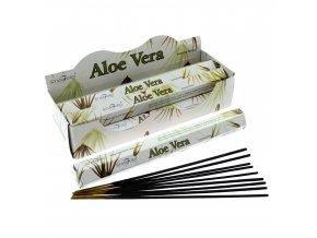 Vonné tyčinky Stamford Premium Aloe Vera, 20 ks