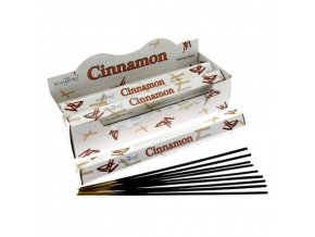 Vonné tyčinky Stamford Premium Cinnamon, 20 ks