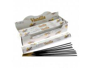 Vonné tyčinky Stamford Premium Vanilla, 20 ks