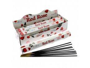 Vonné tyčinky Stamford Premium Red Rose, 20 ks