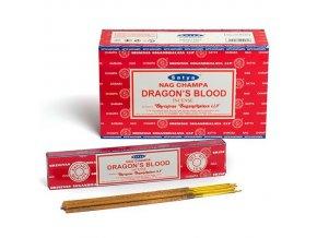 Vonné tyčinky Shrinivas Satya Dragon's Blood , 15 g