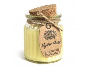Sojová vonná svíčka Mystický Musk, 60 g