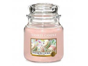Vonná svíčka Yankee Candle Duhové makronky RAINBOW COOKIE, 410 g