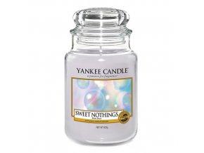 Vonná svíčka Yankee Candle Sladké nic SWEET NOTHINGS, 623 g