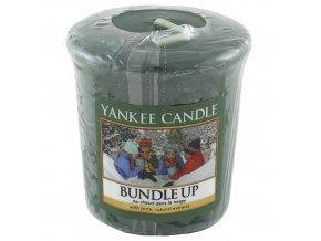 Votivní vonná svíčka Yankee Candle Nabalte se BUNDLE UP, 49 g