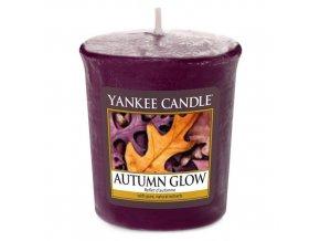 Votivní vonná svíčka Yankee Candle Podzimní záře AUTUMN GLOW, 49 g