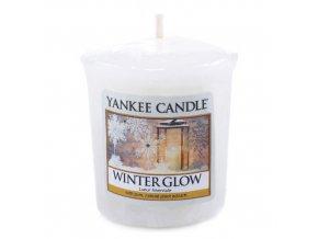 Votivní vonná svíčka Yankee Candle Zářívá zima WINTER GLOW, 49 g