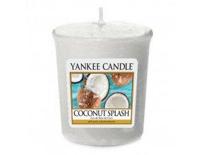 Votivní vonná svíčka Yankee Candle Kokosové osvěžení COCONUT SPLASH, 49 g