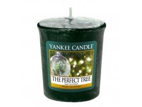 Votivní vonná svíčka Yankee Candle Dokonalý stromek THE PERFECT TREE, 49 g