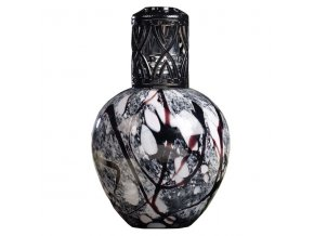 Velká katalytická lampa BLACK MARBLE, 15 x 9 cm