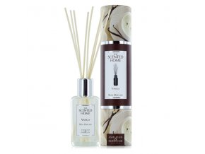 Aroma difuzér THE SCENTED HOME VANILLA (vanilka), 150 ml