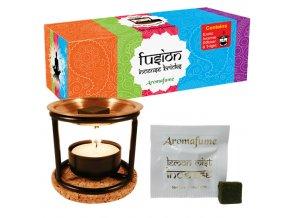 Aromafume difuzér Exotic pro vonné cihličky + sada vonných cihliček 20 ks