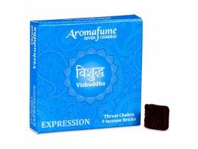 Aromafume vonné cihličky 7 Čaker Vishudda, 9 ks