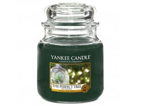 Vonná svíčka Yankee Candle Dokonalý stromek Perfect Tree, 411 g
