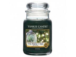 Vonná svíčka Yankee Candle Dokonalý stromek Perfect Tree, 623 g
