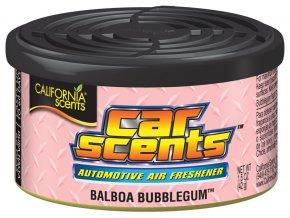 California Car Scents Balboa Bubblegum Žvýkačka