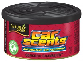 California Car Scents Concord Cranberry Brusinky