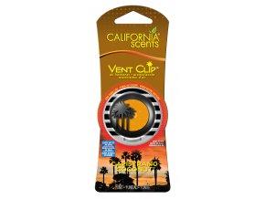 California Scents Vent Clip Capistrano Coconut Kokos