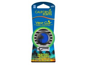 California Scents Vent Clip Newport New Car Nové auto