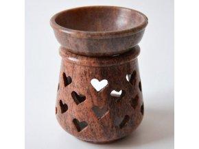 Aroma lampa mastková Srdce, 10 x 7,5 cm