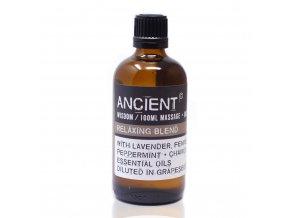 Aroma olej pro masáže a do koupele Relaxační Směs, 100 ml