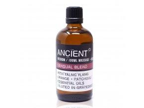 Aroma olej pro masáže a do koupele Sensuální Směs, 100 ml