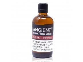 Ancient Wisdom Aroma olej pro masáže a do koupele Tónovací a zpevňující směs, 100 ml