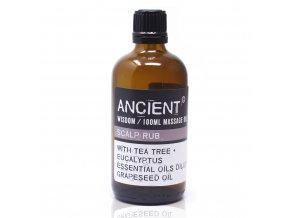 Ancient Wisdom Aroma olej pro masáže a do koupele Na pokožku hlavy směs, 100 ml