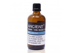 Aroma olej pro masáže a do koupele Pro zdraví směs, 100 ml