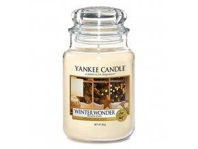 Vonná svíčka ve skleněné dóze Zimní zázrak Winter wonder, 623 g