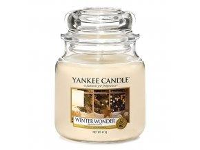 Vonná svíčka ve skleněné dóze Zimní zázrak Winter wonder, 411 g