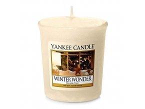 Votivní svíčka Yankee Candle Zimní zázrak Winter wonder, 49 g