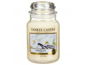 Vonná svíčka ve skleněné dóze Vanilka Vanilla, 623 g