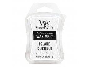 Vonný vosk WoodWick Kokosový ostrov 22,7 g